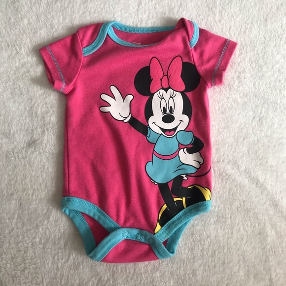 Minnie Mouse Newborn Onesie